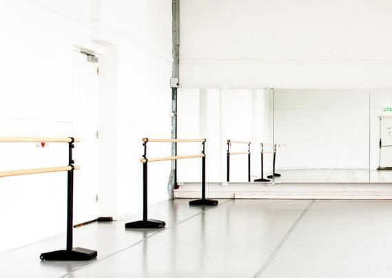 verrijdbare ballet barre fosk