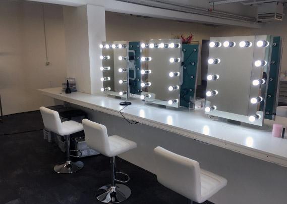 Make Up Spiegel : Make up spiegel und theaterspiegel foskmirrors