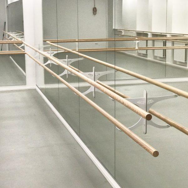 ballet spiegelwand