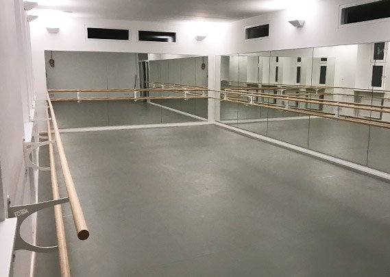 Spiegel Fitnessraum spiegelwanden voor dans ballet fitness of gymzaal foskmirrors com