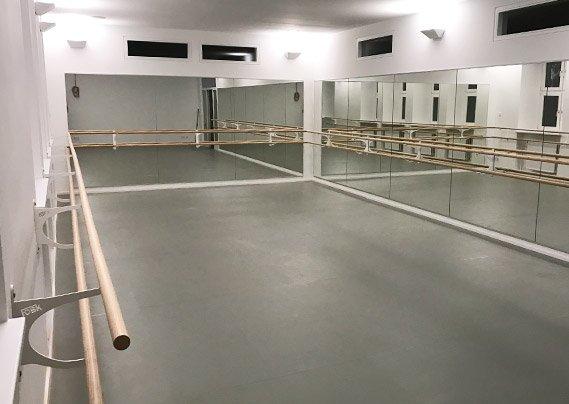 fosk balletspiegels met ballet barre