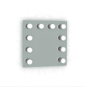 60x60cm -10 lampen | 20% korting